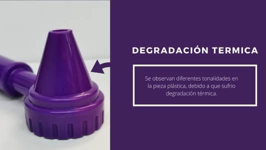 degradación térmica